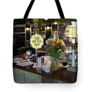 Please Wait To Be Seated Tote Bag