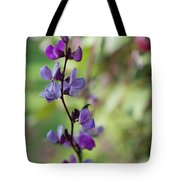 Pleasing Purple Plant Picture Tote Bag
