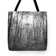 Pleasure Of Pathless Woods Bw Tote Bag