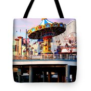 Pleasure Pier Tote Bag