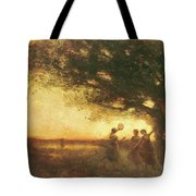 Pleasures Of The Evening Tote Bag
