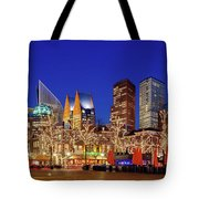 Plein At Blue Hour - The Hague Tote Bag