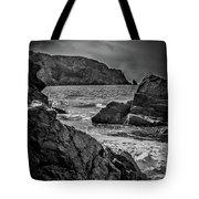 Plemont Rocks Tote Bag