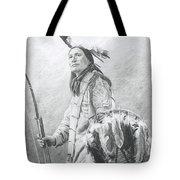 Taopi Ota - Lakota Sioux Tote Bag by Brandy Woods