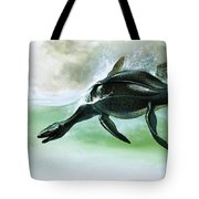 Plesiosaurus Tote Bag by William Francis Phillipps