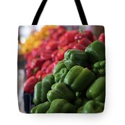 Plethora Of Peppers Tote Bag