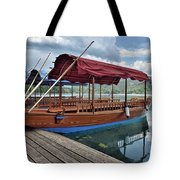 Pletna Boats Of Lake Bled Tote Bag
