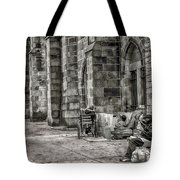 Plight Of The Homeless Tote Bag