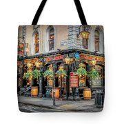 Plough Pub London Tote Bag by Adrian Evans