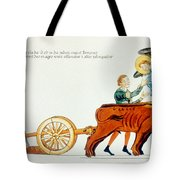 Ploughing, 12th Century Tote Bag