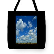 Ploughing Under A Mid Day Sun Tote Bag