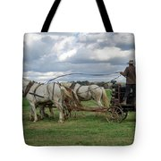 Plowing In Lancaster County Tote Bag
