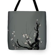 Plum Flower 3 Tote Bag