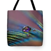 Plum Heart Tote Bag
