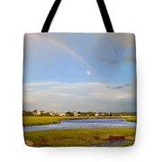 Plum Island Rainbow Tote Bag