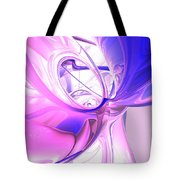 Plum Juices Abstract Tote Bag