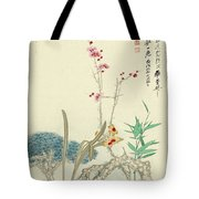 Plum Pine Orchid Tote Bag