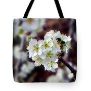 Plum Tree Blossoms II Tote Bag