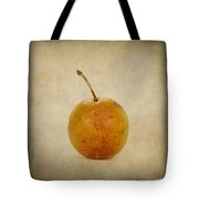 Plum Vintage Look Tote Bag