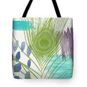 Plumage 4- Art By Linda Woods Tote Bag by Linda Woods
