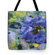 Plumbago Flowers Tote Bag