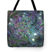 Plume And Bubbles Tote Bag