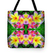 Plumeria Art Tote Bag