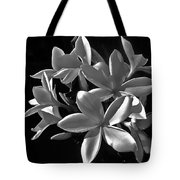 Plumeria Proper Evening Tote Bag