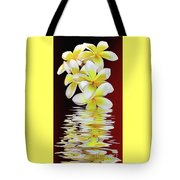 Plumeria Reflections By Kaye Menner Tote Bag