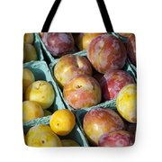 Plums Tote Bag by John Greim