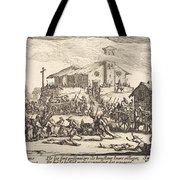 Plundering And Burning A Village Tote Bag