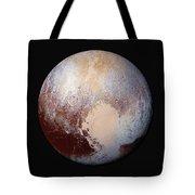 Pluto Dazzles In False Color Tote Bag