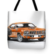 Plymouth Barracuda 1973 Hemi Cuda Tote Bag