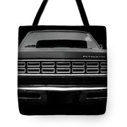 Plymouth Fury - Black Tote Bag