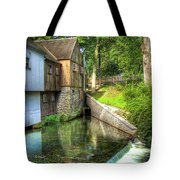 Plymouth Grist Mill Tote Bag