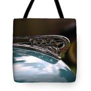 Art Deco Plymouth Hood Ornament Tote Bag