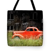 Plymouth Hot Rod Tote Bag