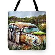 Plymouth On The Rocks Tote Bag