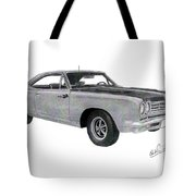Plymouth Road Runner 1969 Tote Bag