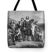 Plymouth Rock: Landing Tote Bag