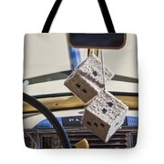Plymouth Special Deluxe Dice Tote Bag