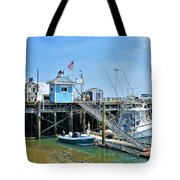 Plymouth Waterfront Tote Bag