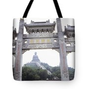 Po Lin Monestary Tote Bag