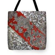 Pockmarked Concrete Tote Bag