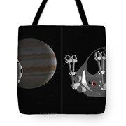 Pod 2001 - Gently Cross Your Eyes And Focus On The Middle Image Tote Bag