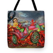 Poe Enjoy The Countryside Tote Bag