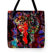 Poetry Music And Art Tote Bag
