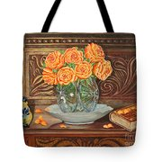 Poetry Of Roses Tote Bag