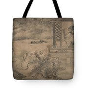 Poets Gathering In The Orchid Pavilion Tote Bag