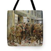Pogrom Of Wine Shop Tote Bag